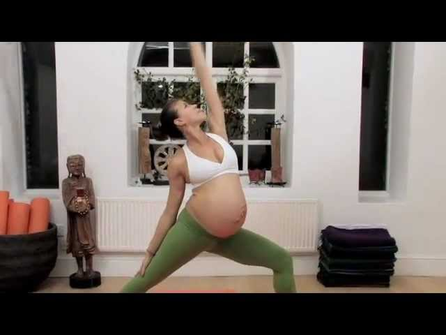 Flow Yoga Mama! Yoga Instructor Mercedes Ngoh 9 Months Pregnant Handstands
