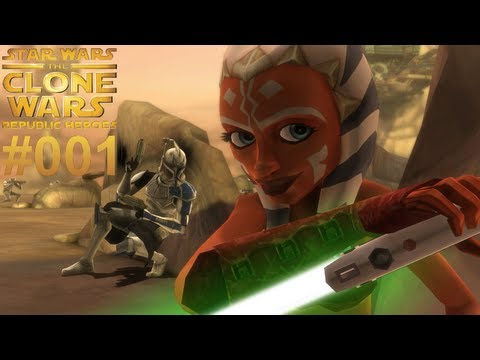 Let s Play Star Wars The Clone Wars Republic Heroes #001 [Together] [Deutsch] [Full-HD]