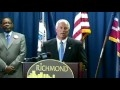 CAA Commissioner Tom Yeager and City of Richmond Mayor Dwight C. Jones Press Conference