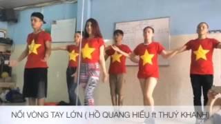 """Tập nhảy Flashmob bài """" nối vòng tay lớn"""""""