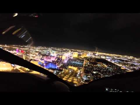 Las Vegas Helicopter at night