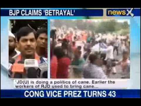 NewsX: BJP's return to violence