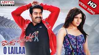O Lailaa Full Video Songs - Ramayya Vasthavayya Video Songs - Jr.NTR,Samantha,Shruti Haasan