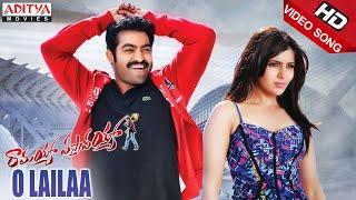 Ramayya Vasthavayya - Ramayya Vasthavayya Movie - O Lailaa Full Video Songs - Jr.NTR,Samantha,Shruti Haasan