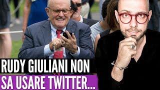 Epic Fail: Rudy Giuliani non sa usare Twitter