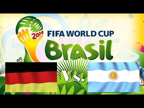 Germany vs Argentina 1-0 World Cup 2014 Final match