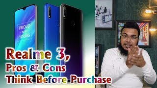 Realme 3 Pros & Cons and semiler mobiles  | best budget smartphone around 10K INR