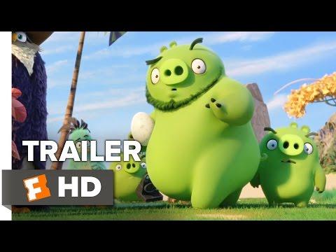 The Angry Birds Movie TRAILER (2016) -  Jason Sudeikis, Peter Dinklage Animated Movie HD