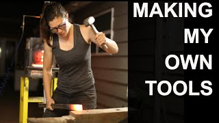 Forging My Own Woodworking Tools