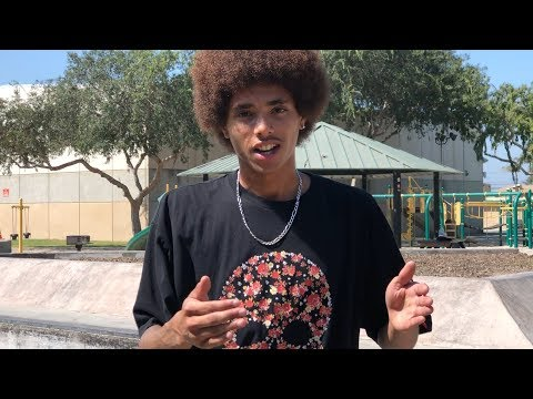SKATING WITH DARRIUS AND FRIENDS - FRONTSIDE FLIP TRICK TIP & MORE - NKA VIDS -