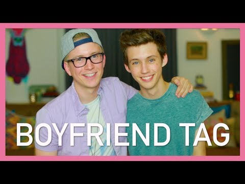 The boyfriend Tag (ft. Troye Sivan) | Tyler Oakley #troyler video