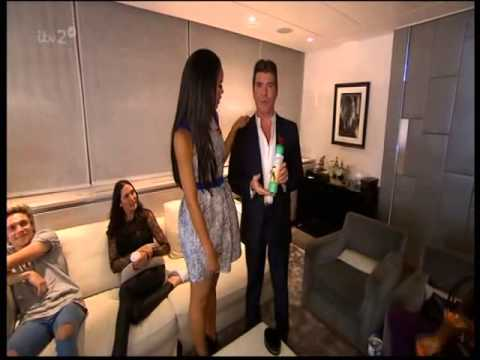 Tour of Simon Cowell's Dressing Room - The Xtra Factor 2014