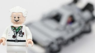LEGO Back To The Future Delorean Time Machine Review 21103