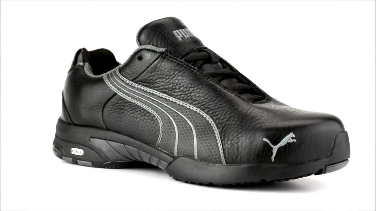 Womens Puma 642855 Steel Toe Work Shoe Youtube