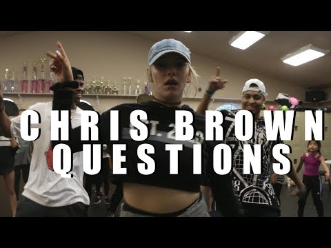 Chris Brown  Questions  Phil Wright Choreography  Ig: @philwright