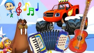 Musical Instruments for Kids – The Little Orchestra | MusicMakers with Nick Jr - Baby Teacher