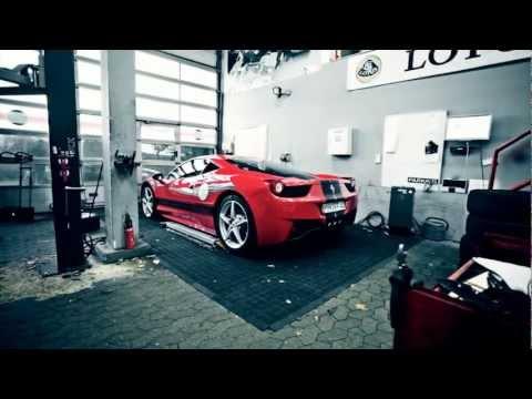 Ferrari Car Rental In Las Vegas