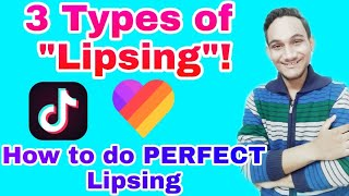 3 Types of Lipsing You Do! | How to do perfect lipsing | Viral your video with Lipsing