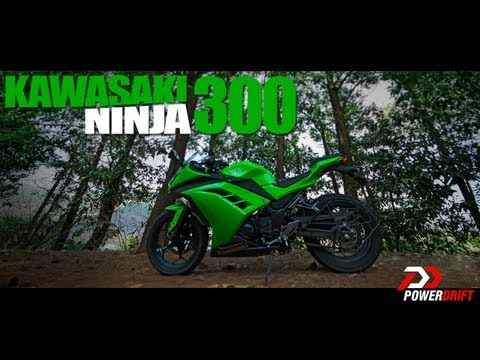 Kawasaki Ninja 300 Review: PowerDrift