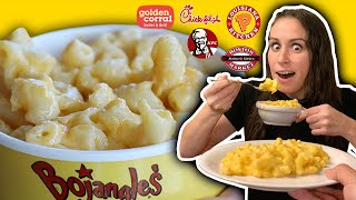 Eating ONLY MAC N CHEESE for 24 HOURS 🧀⏰ // TOP 10 Ranked