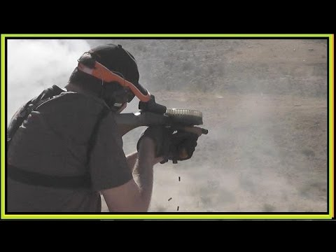 COOLEST .22 LR Full Auto Machine Gun  - RARE!