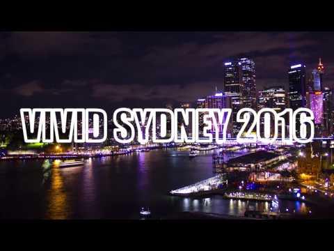 VIVID SYDNEY Australia 2016 in 2 minutes (timelapse/ hyperlapse)
