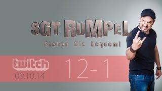 Livestream SgtRumpel #12 Part A
