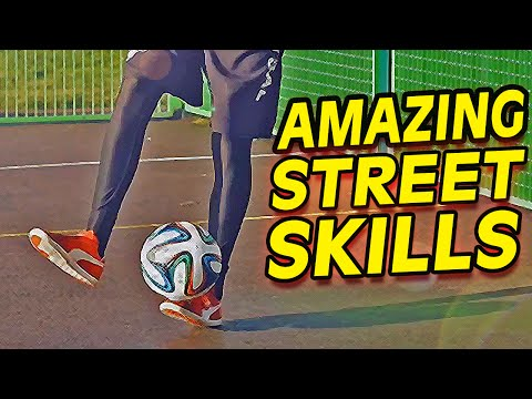 Insane Street Football Skills - Soccer Freestyle Trick Tutorial video
