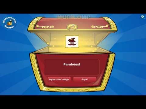 Club Penguin - Código de 5000 moedas - Disponível para todos!
