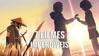 7 FILMES DE ANIMES PRA VER EM UMA SEMANA