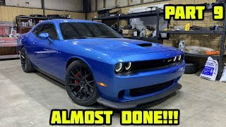 Rebuilding a Wrecked 2016 Dodge Hellcat Part 9