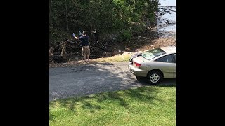 Play this video Almost a LiveLeak Video - MAN HIT BY TREE  Zybak Gives Excellent Advice