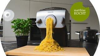 Frische Pasta auf Knopfdruck - Der Philips Pastamaker im Test / Review