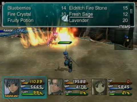 Star Ocean 3 Lenneth Fight