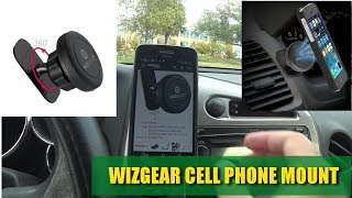 WizGear Magnetic Car Mount Review