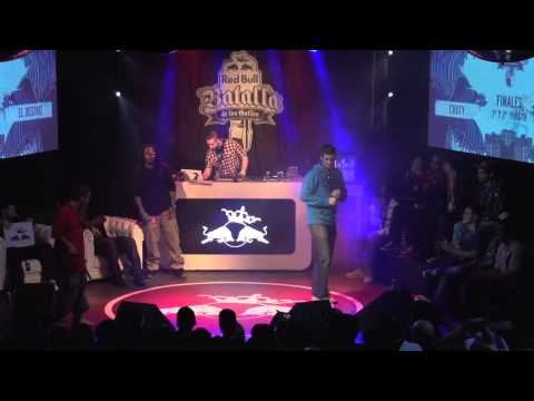 Chuty vs El Destro - Final - Red Bull Batalla de los Gallos 2013 (Oficial)