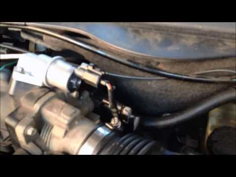Fixing Idling Problem Throttle Position Sensor Replacement 2001 Ford Taurus