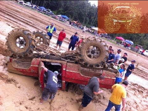 SCARY SCARY WRECK @ TROUT CREEK MUD BOGG!! Music Videos