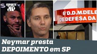 """""""É MUITA frescura!"""" Depoimento de NEYMAR obriga delegacia a """"se transformar""""!"""