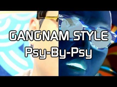 Gangnam Style Psy-by-psy video
