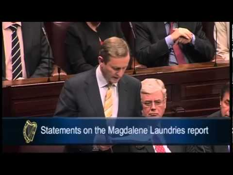 Irish PM Enda Kenny's tearful apology to survivors of Magdalene laundries