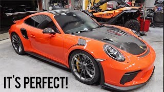 Why my GT3RS has been missing...
