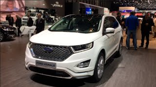 Ford Edge Vignale 2016 In detail review walkaround Exterior