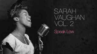 Sarah Vaughan - Speak Low