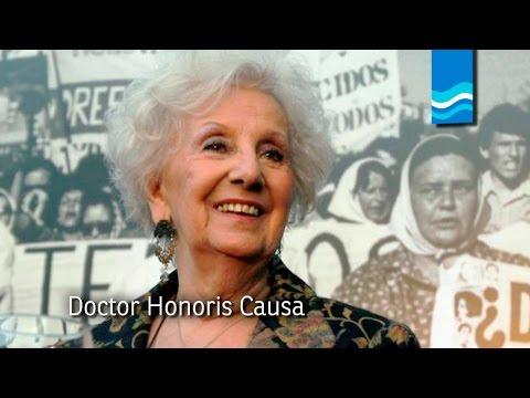 Honoris Causa a Estela de Carlotto en UNER