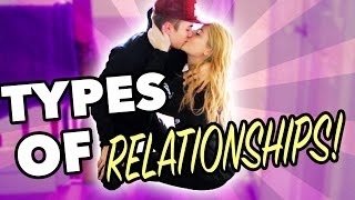 TYPES OF RELATIONSHIPS! | Saffron Barker ft Jake Mitchell