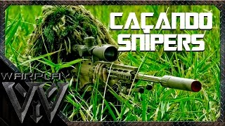 CAÇANDO SNIPERS NO MEIO DO MATO I AIRSOFT GAMEPLAY