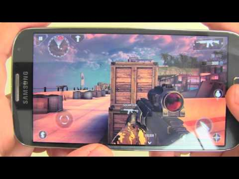 Samsung Galaxy S4 Gaming Test / Spieletest