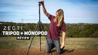 Camera Tripod REVIEW - Tripod and Monopod in One by Zecti | MicBergsma