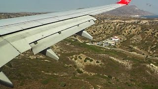 Windy Landing in Kos - AirBerlin 737